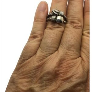 David Yurman chiclet ring
